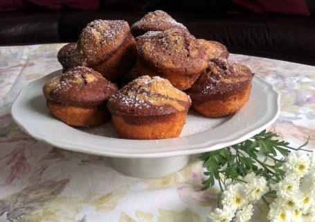 Muffins, marmoriert