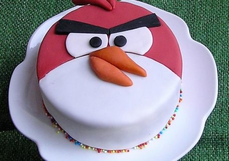 Angry bird Sacher Torte