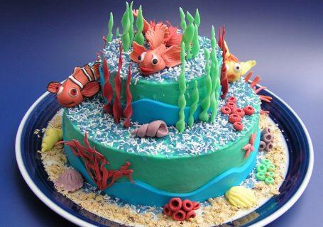 Sea life Torte