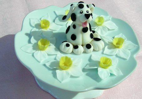 Dalmatiner Welpe aus Fondant
