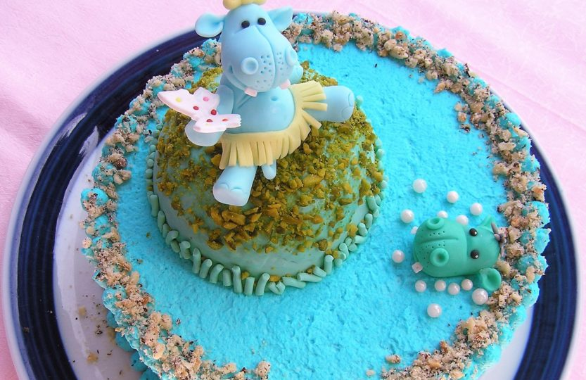 Nilpferd-Torte