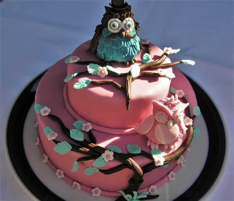 Kuchen mit fondant lagern