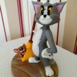 Tom und Jerry Fondant Figur Tortendeko