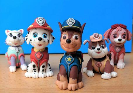 Paw Patrol Fondant Figuren Hunde
