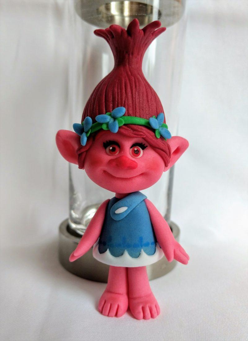 Troll Poppy Fondant Figur