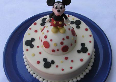 Micky Maus Torte zum Geburtstag