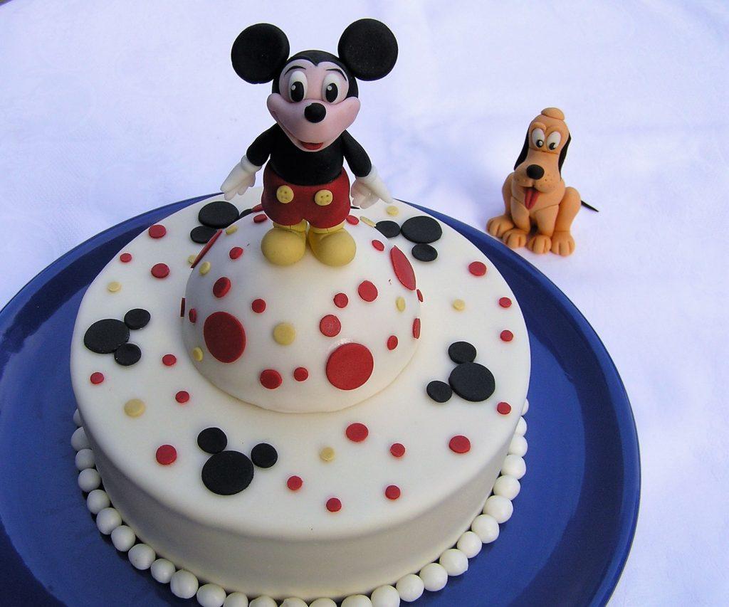 Micky Maus Geburtstagstorte