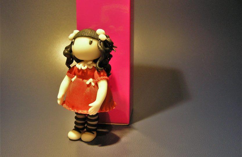 Puppe aus Fondant