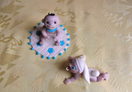 Fondant Baby modellieren