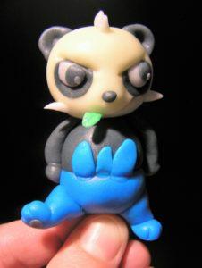 Pokemon Fondant Figur panda