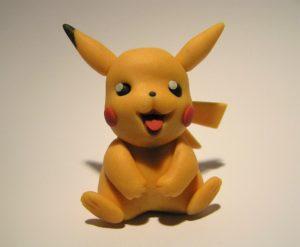 Pokemon Figur:Fondant Pikachu
