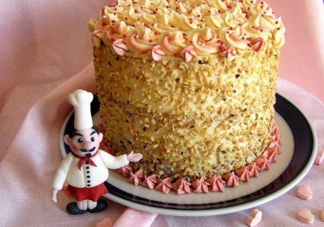 Neapolitanische Buttercreme Torte