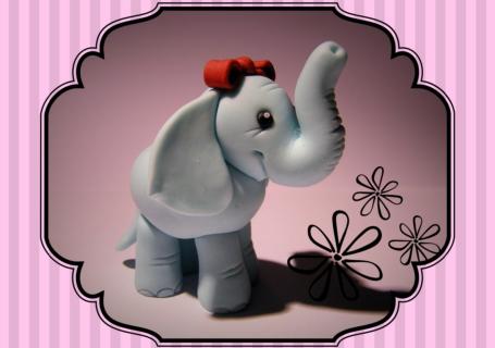 Fondant Figur Elefant