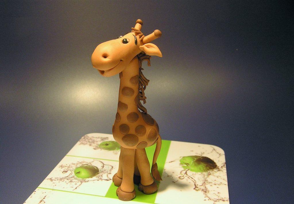 Fondant Giraffe Figur