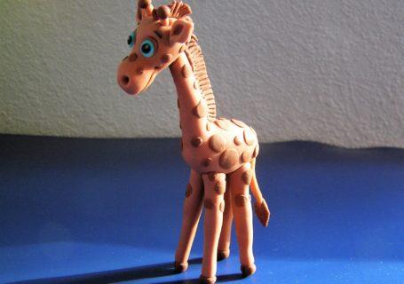Giraffe aus Fondant