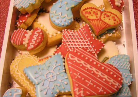 Kekse mit Royal Icing verzieren