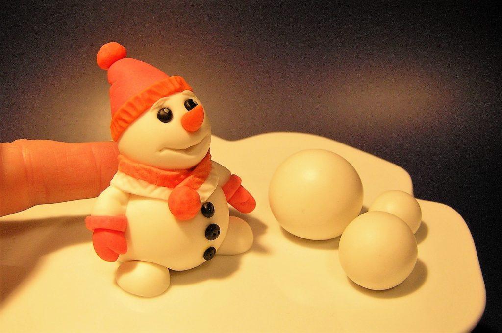 Snowman Fondant