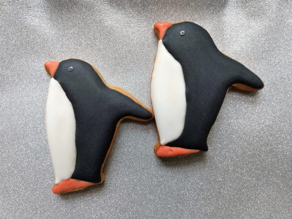 Pinguin Butterplätzchen