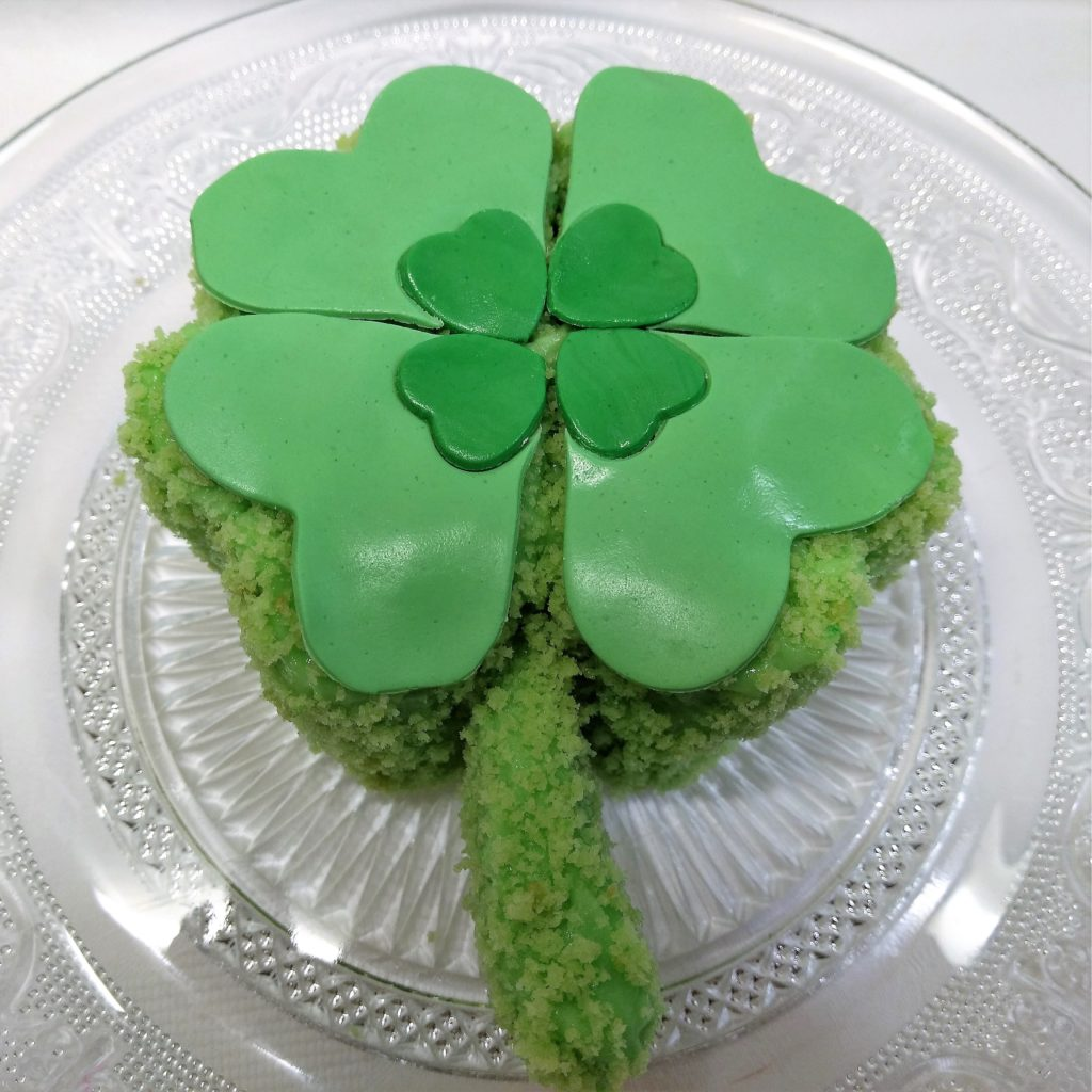 Kleeblatt Torte, Glücksbringer Torte