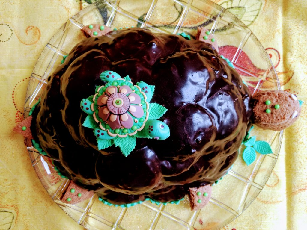 Russische Torte Schildkröte