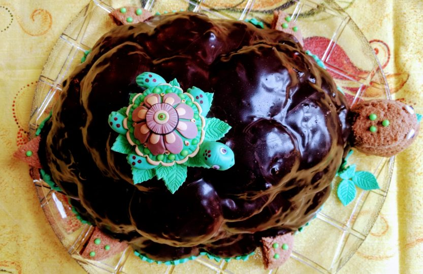 Torte Schildkröte Turtle cake