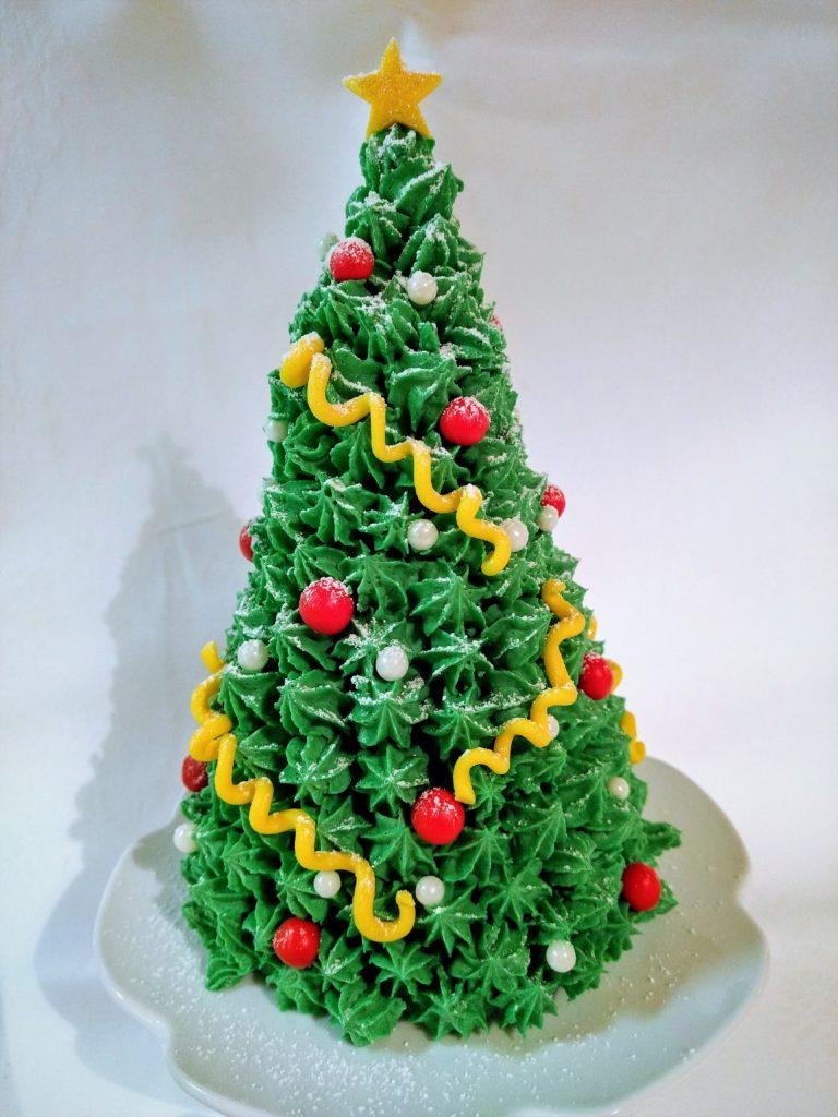 Weihnachtstorte Christbaum