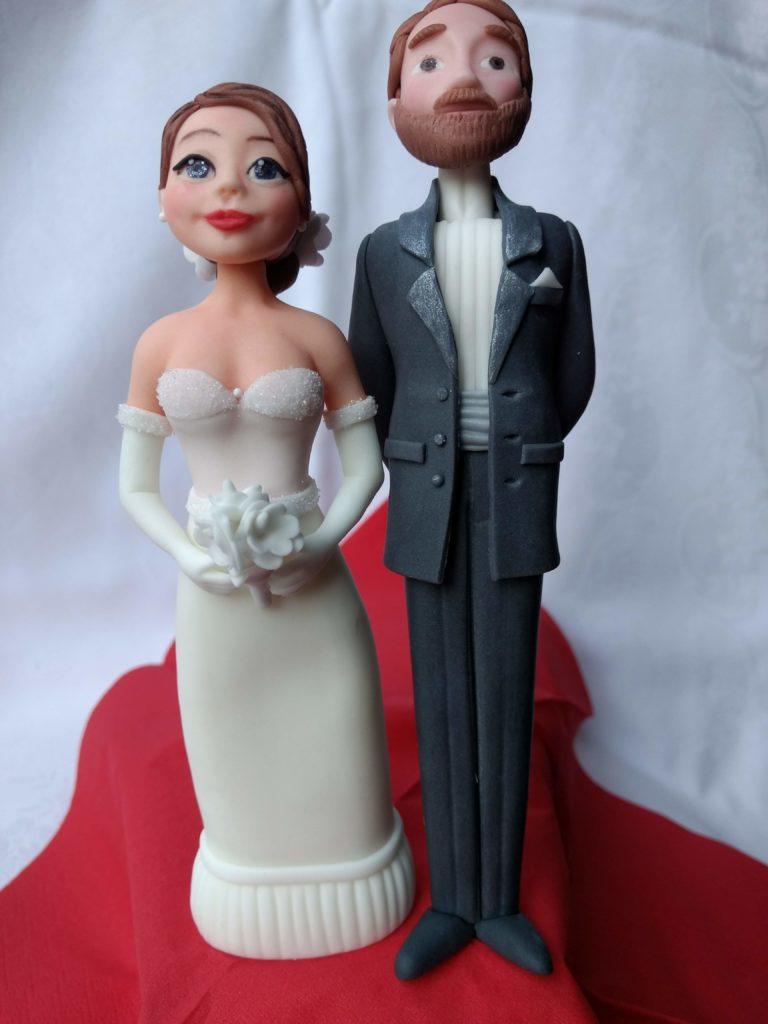 Tortenfiguren Menschen Hochzeitstorte