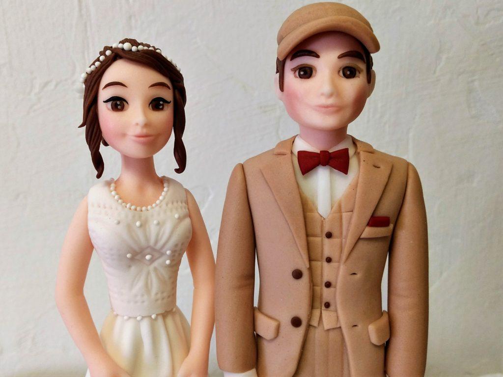 Brautpaar figuren Hochzeit DEkofiguren Hochzeitstorte