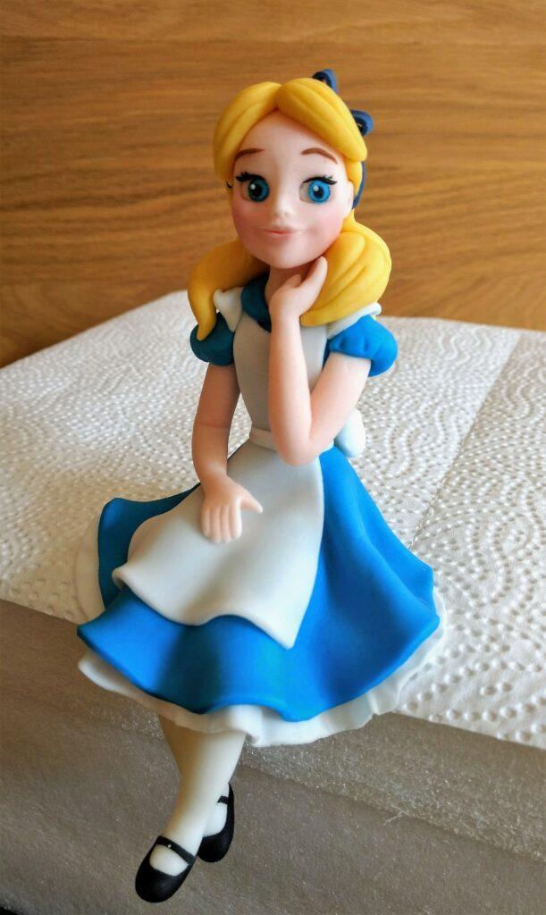 Alice im Wunderland Zuckerfigur