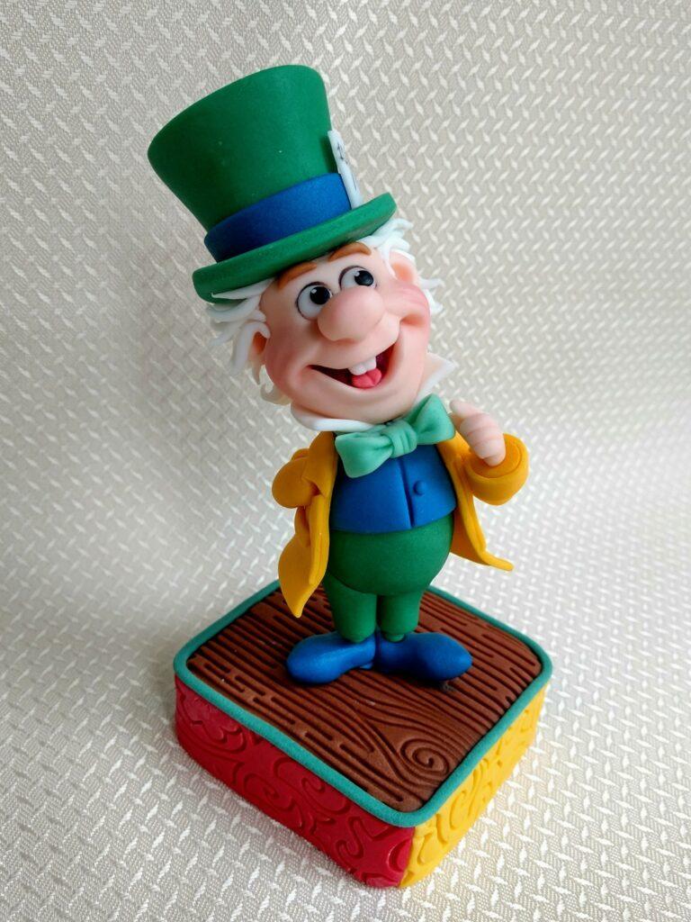 Der verrückte Hutmacher Zuckerfigur