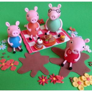 Peppa Wutz Schweinchenfamilie Tortenfiguren